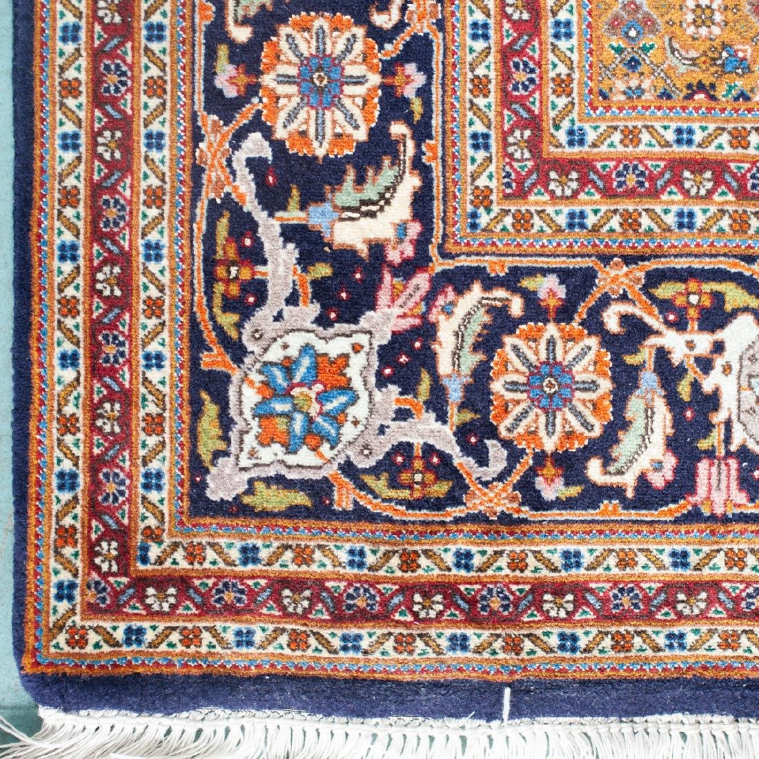 Persian Wool Tabriz Rug - 2
