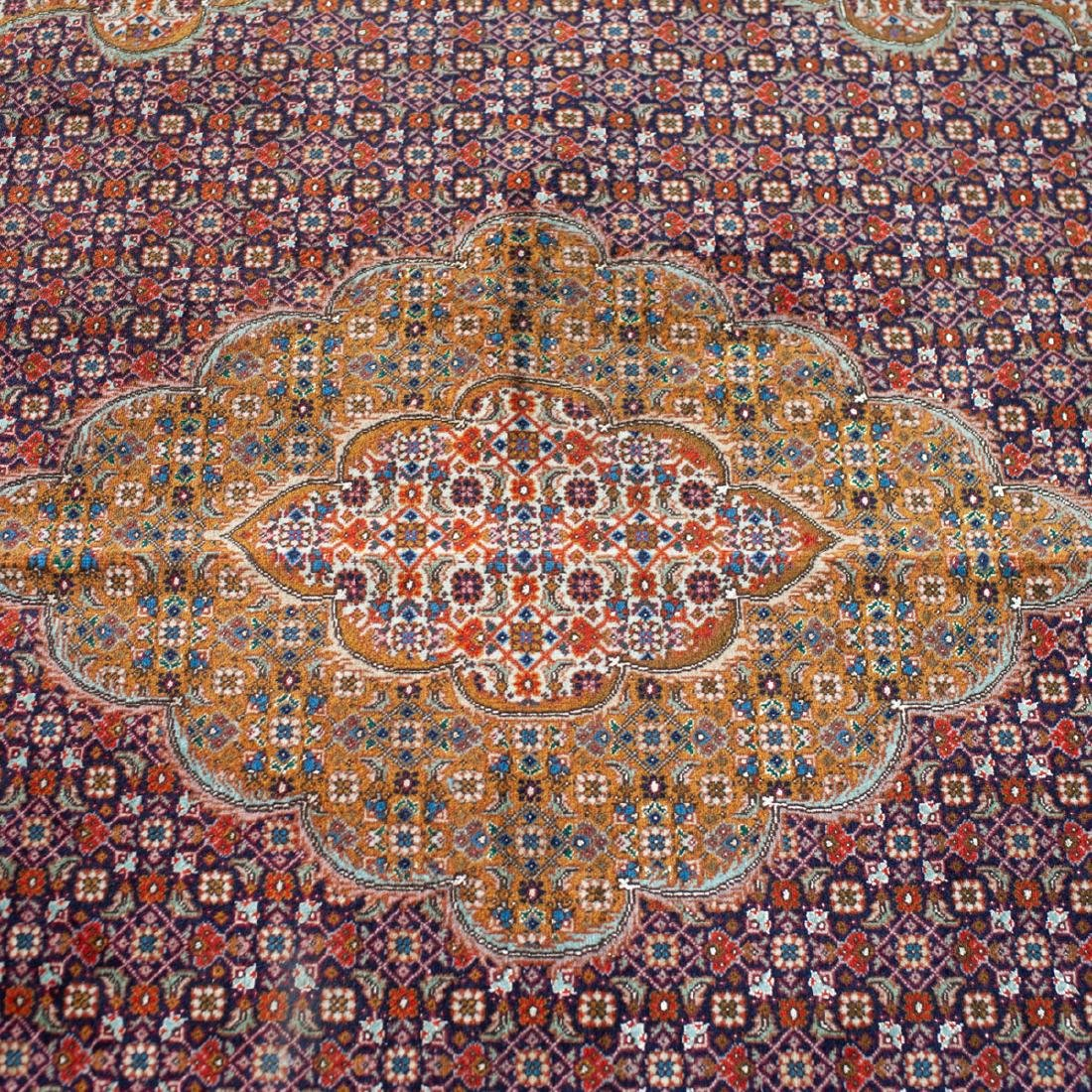 Persian Wool Tabriz Rug - 4