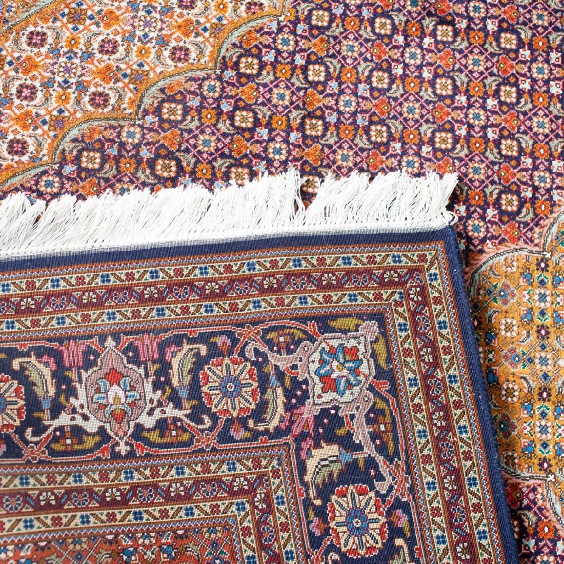 Persian Wool Tabriz Rug - 5