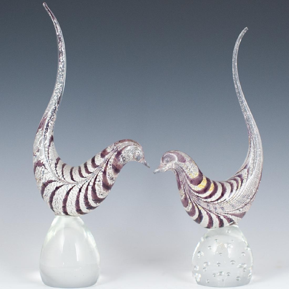 Murano Glass Birds - 3