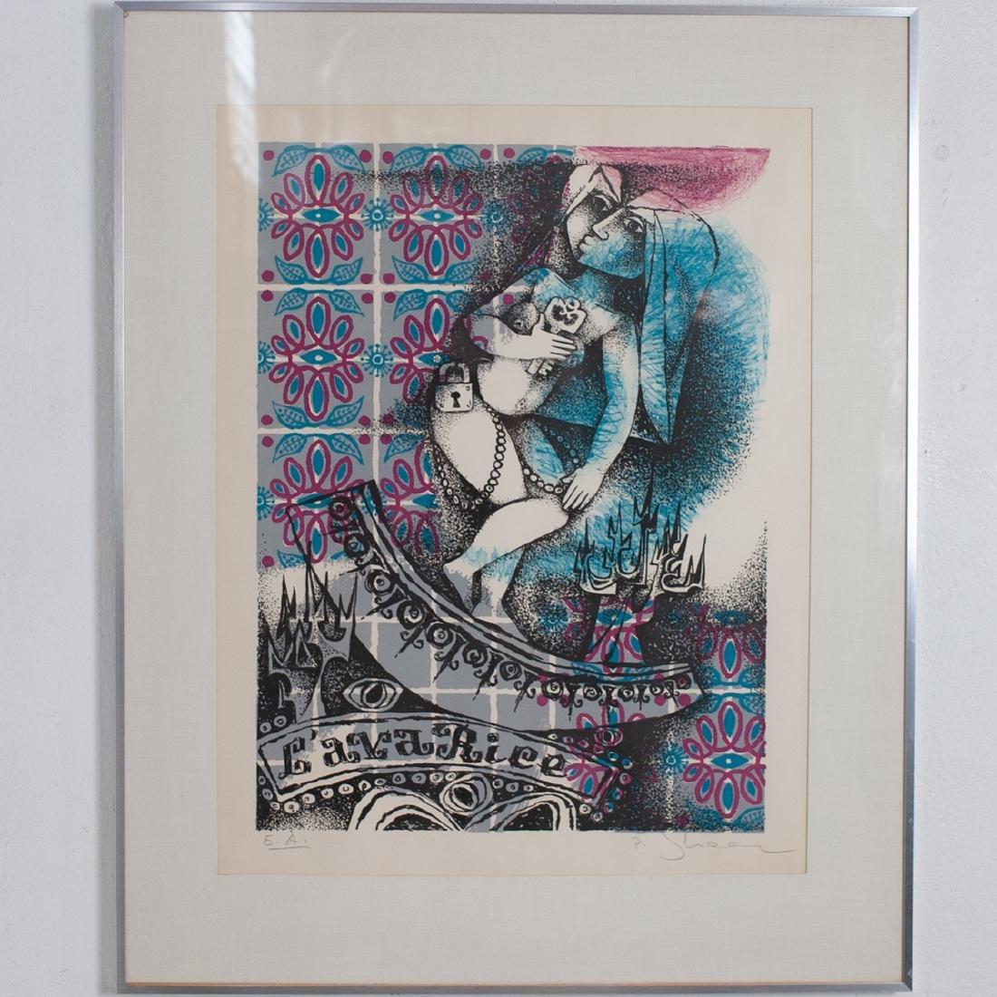 Pinchas Shaar (Israeli 1923 - 1996) Artist Proof