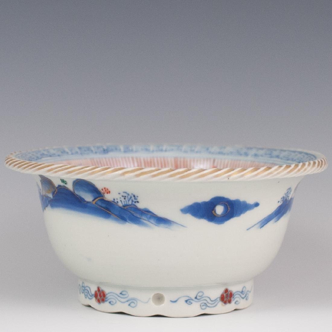 Japanese Porcelain Imari Rice Bowl - 4