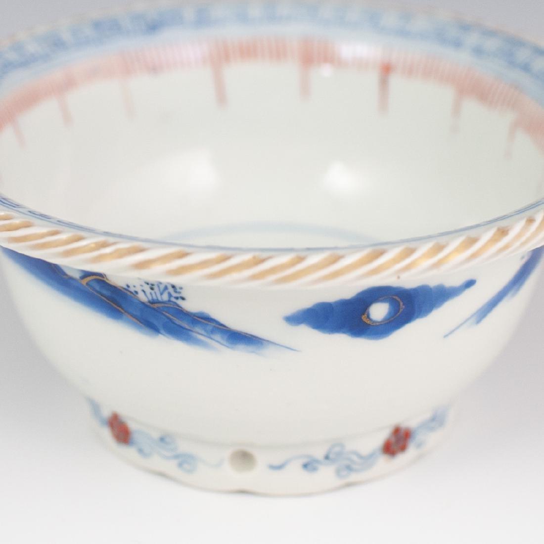 Japanese Porcelain Imari Rice Bowl - 5