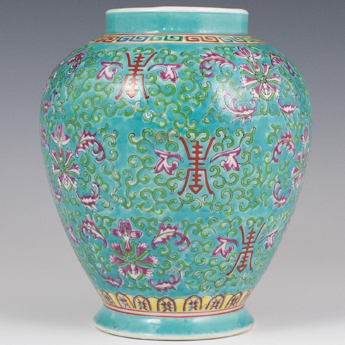 Chinese Porcelain Enameled Vase