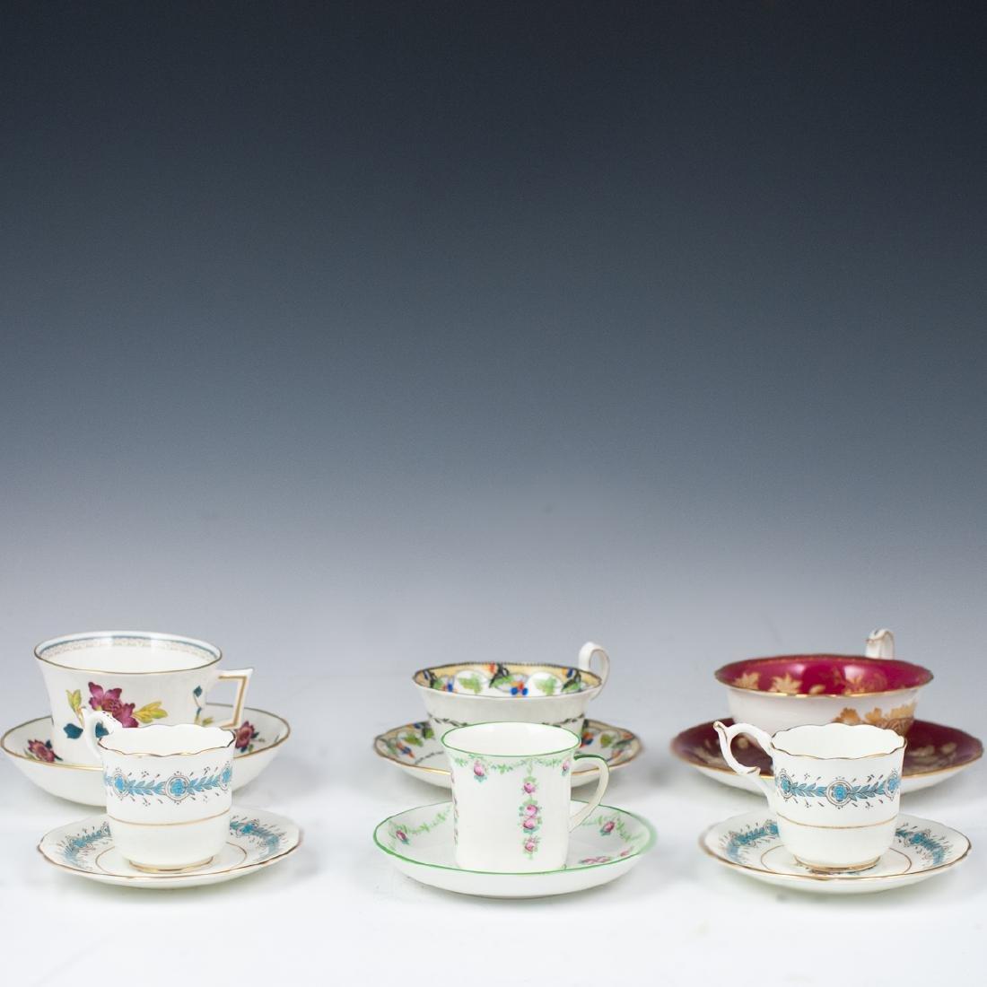 Vintage English Porcelain Teacups