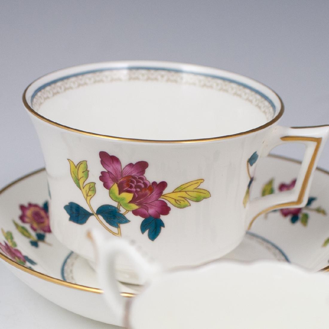 Vintage English Porcelain Teacups - 2