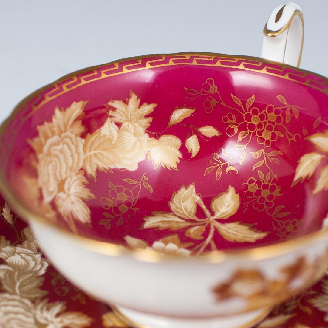 Vintage English Porcelain Teacups - 3