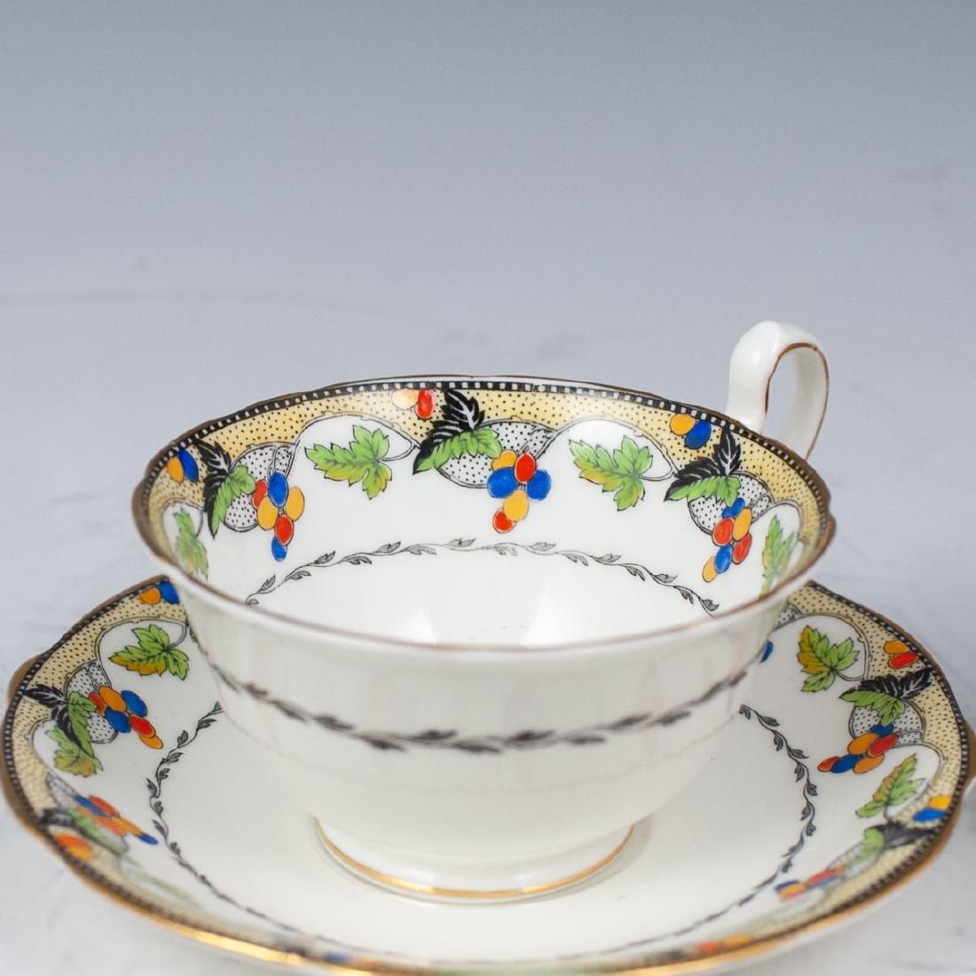 Vintage English Porcelain Teacups - 4