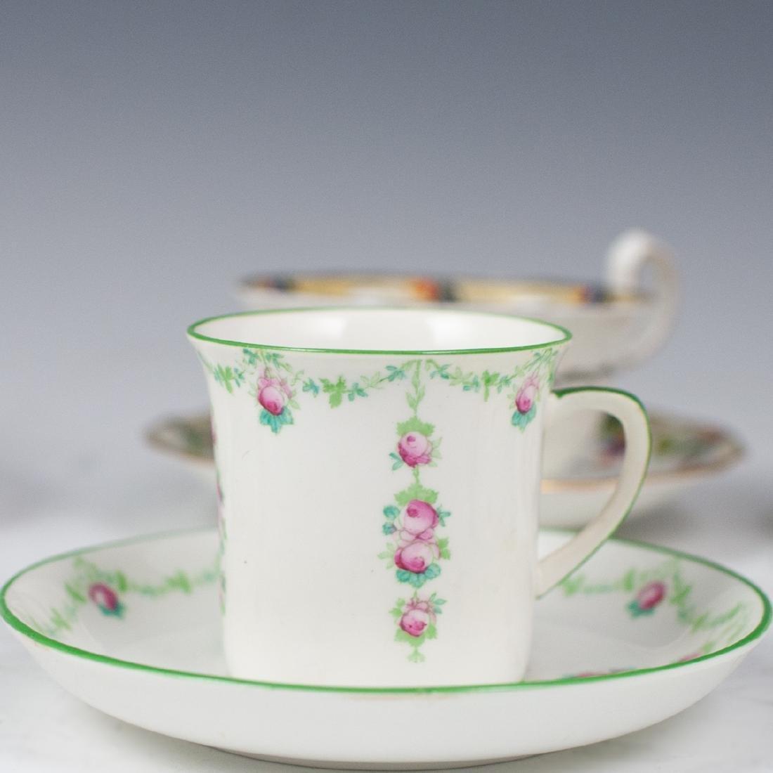 Vintage English Porcelain Teacups - 5