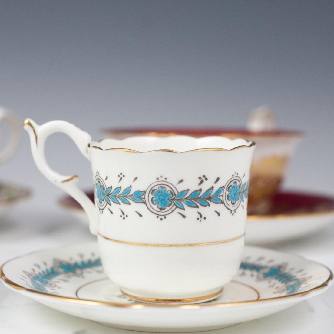 Vintage English Porcelain Teacups - 6