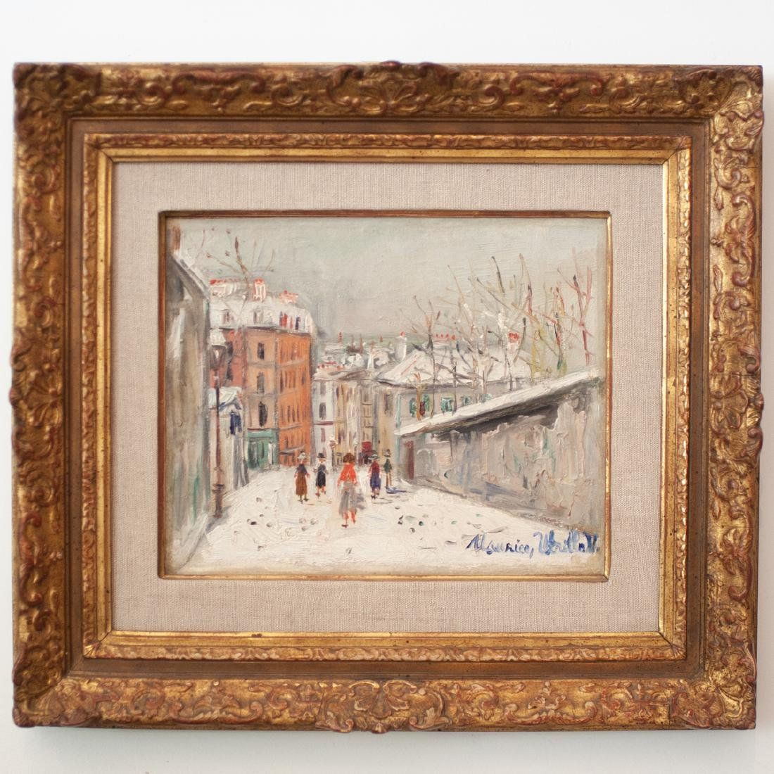 Probably Maurice (Valadon) Utrillo  (French 1883 -