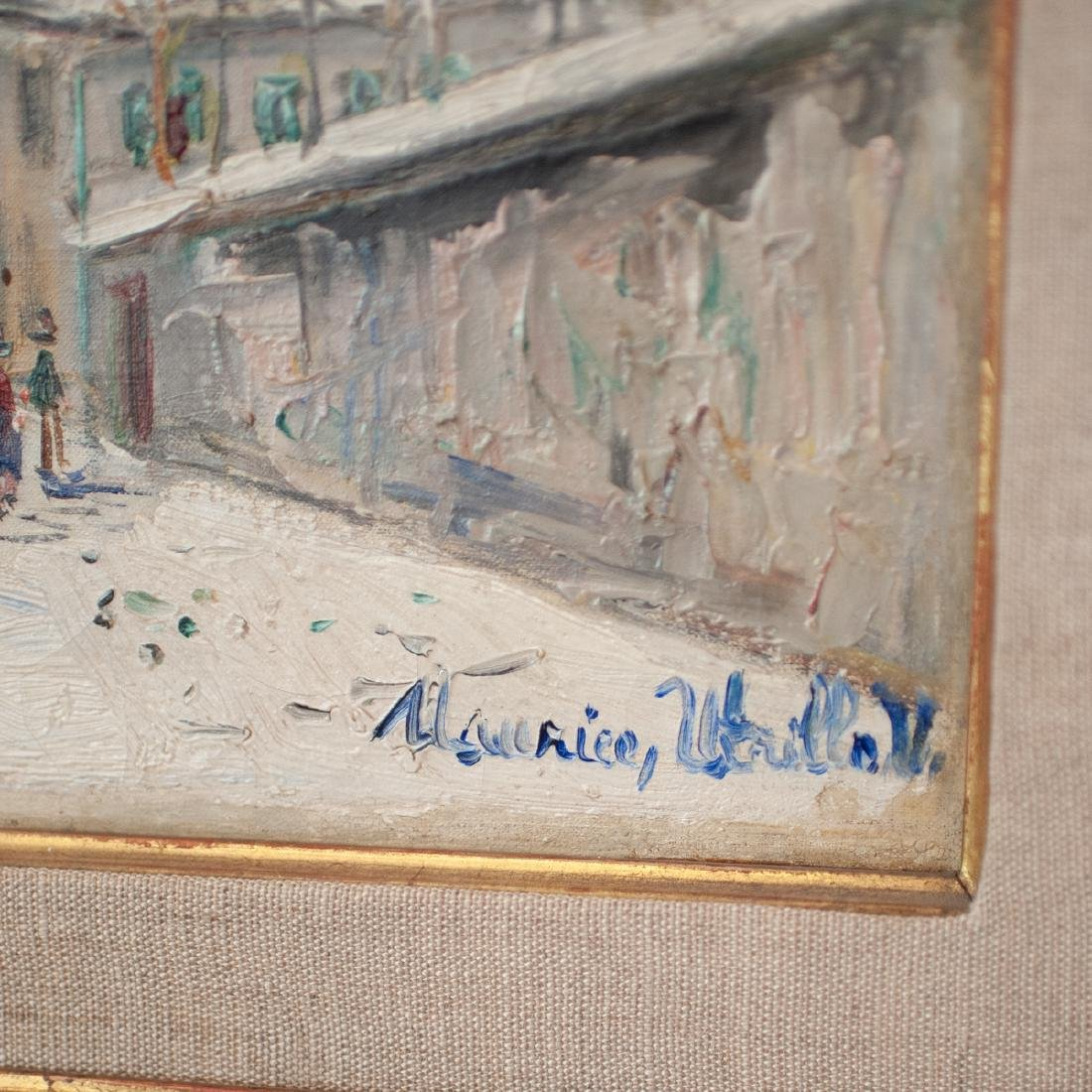 Probably Maurice (Valadon) Utrillo  (French 1883 - - 2