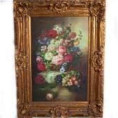 Large Vintage Oil on Canvas SignedAllen