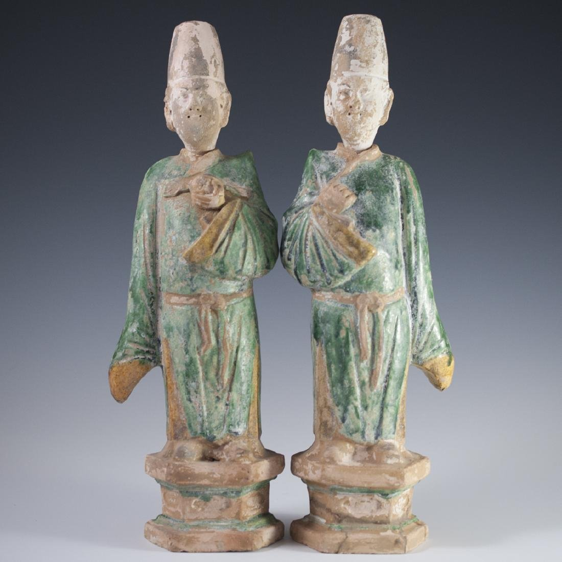 Ming Dynasty Pottery Sculptures