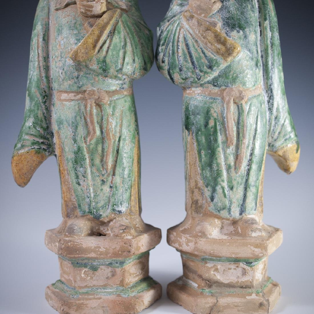 Ming Dynasty Pottery Sculptures - 4