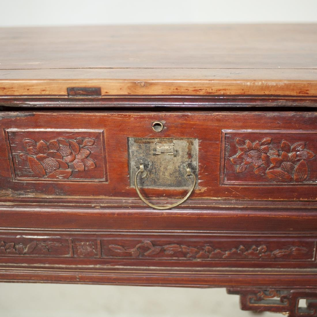 Antique Chinese Wooden Altar Table - 2