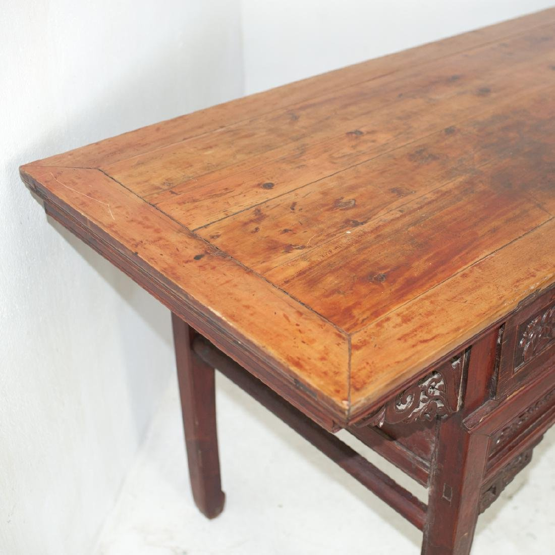 Antique Chinese Wooden Altar Table - 3