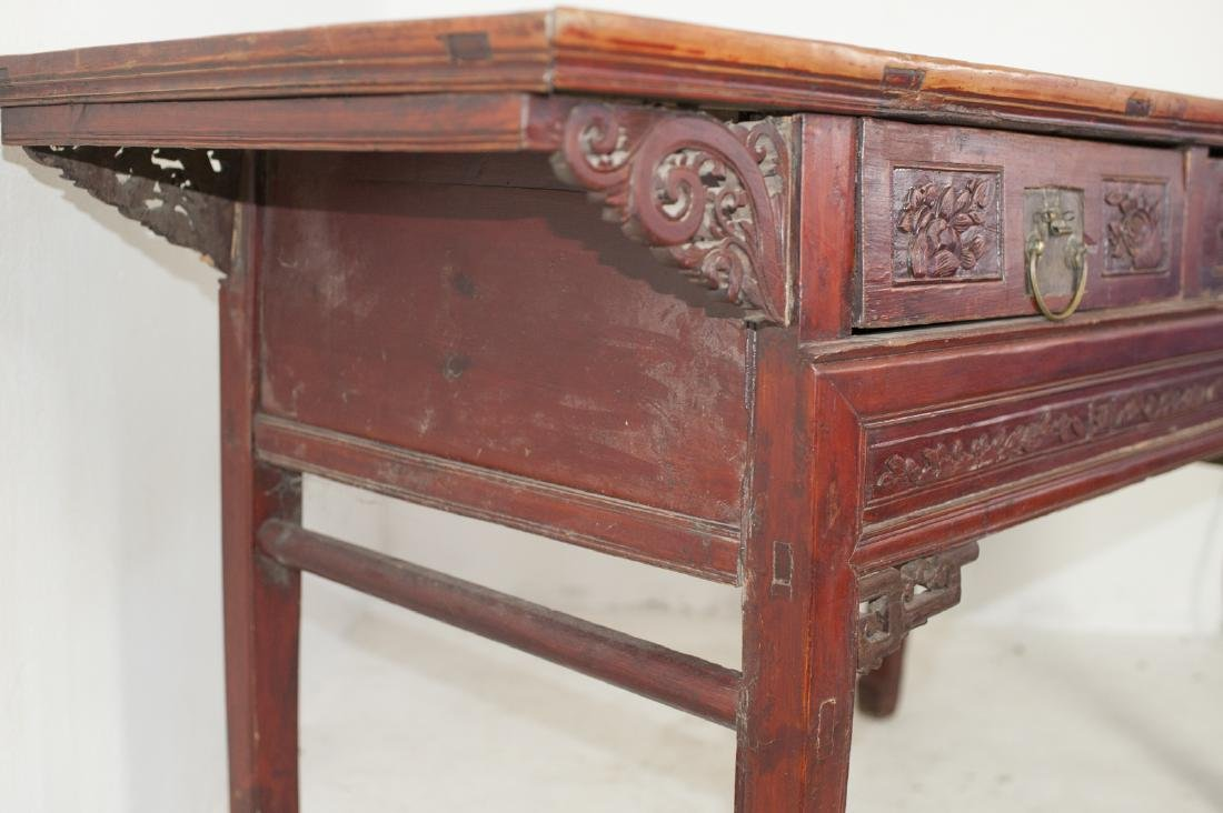 Antique Chinese Wooden Altar Table - 6