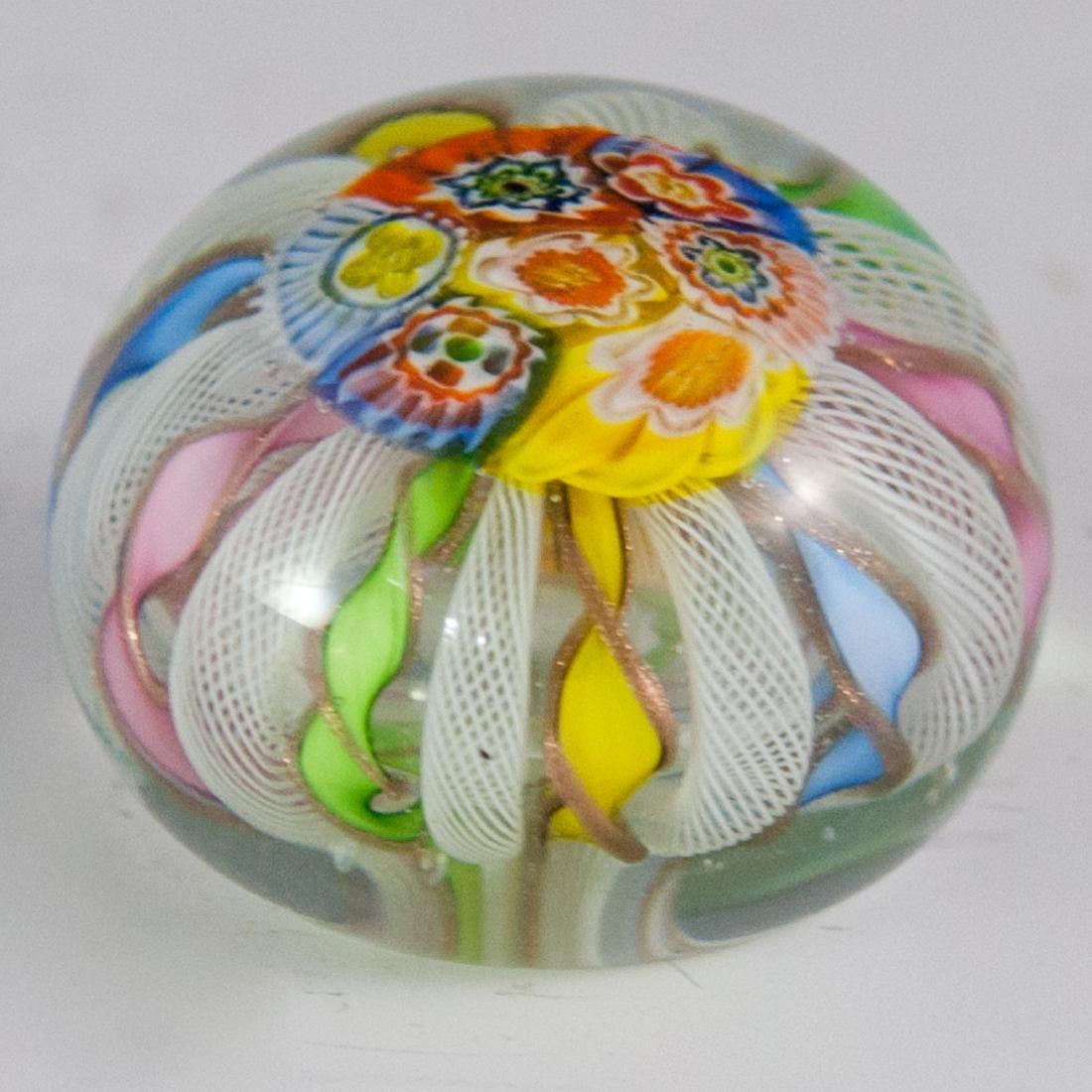 Murano Glass Millefiori Paperweight