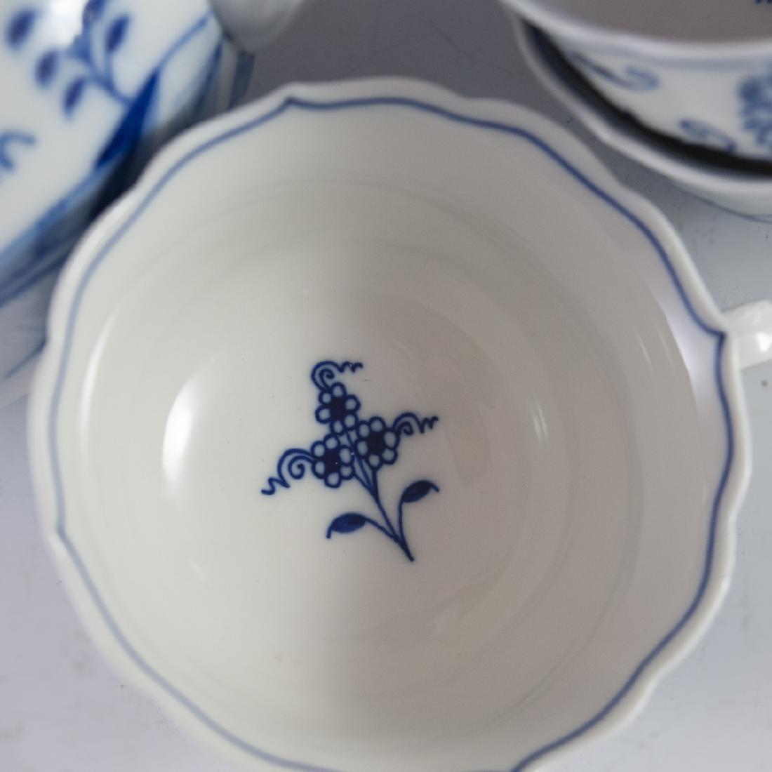 """Meissen """"Blue Onion"""" Porcelain Set - 3"""