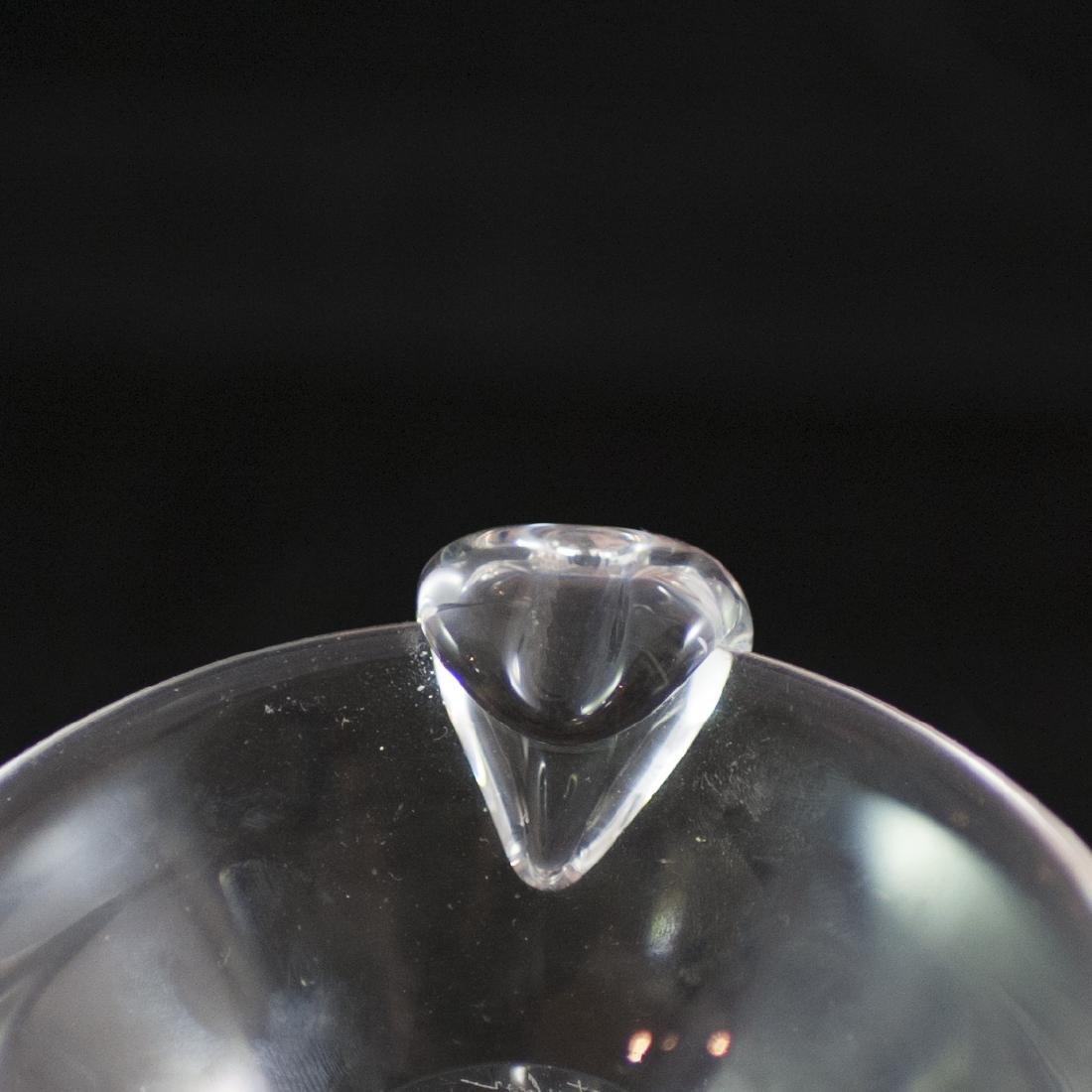 Steuben Crystal Ashtray - 4