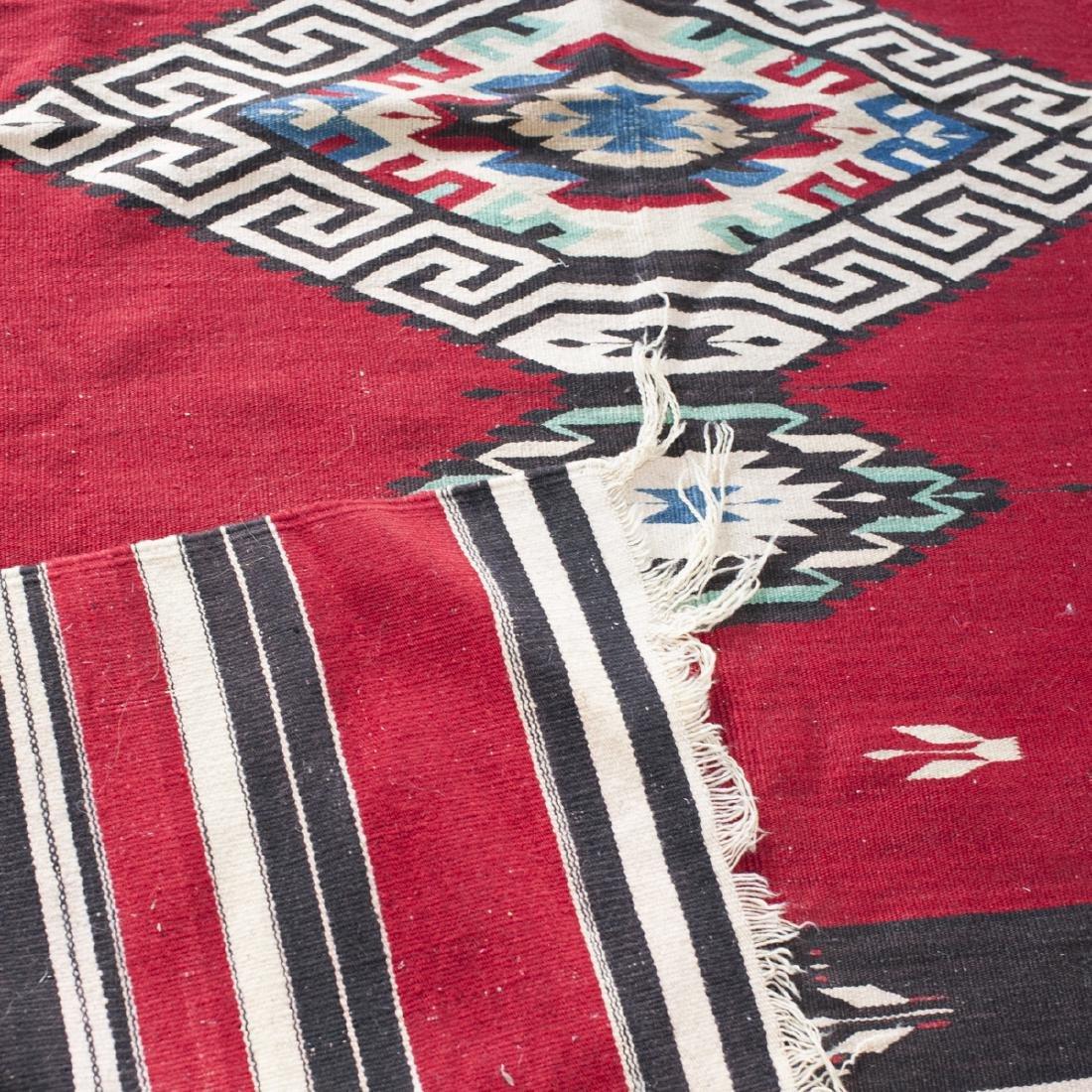 Native American Wool Rug - 3