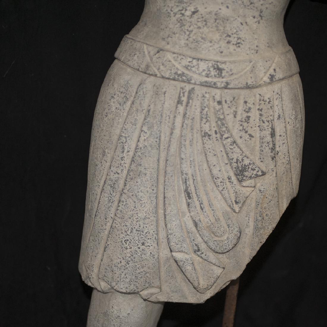 Southeast Asian Carved Stone Buddha - 3