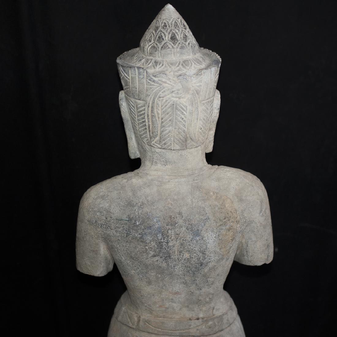 Southeast Asian Carved Stone Buddha - 4