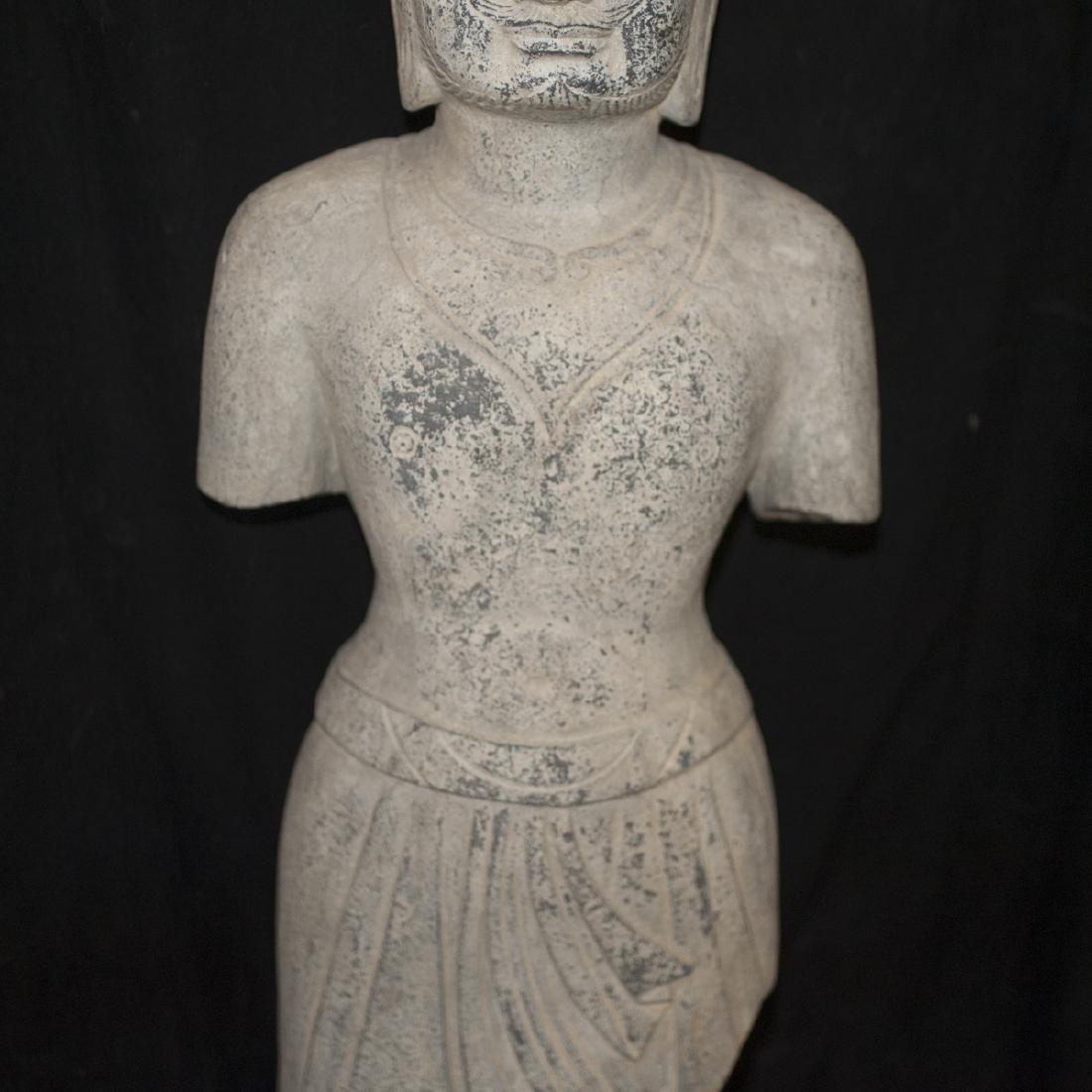 Southeast Asian Carved Stone Buddha - 5
