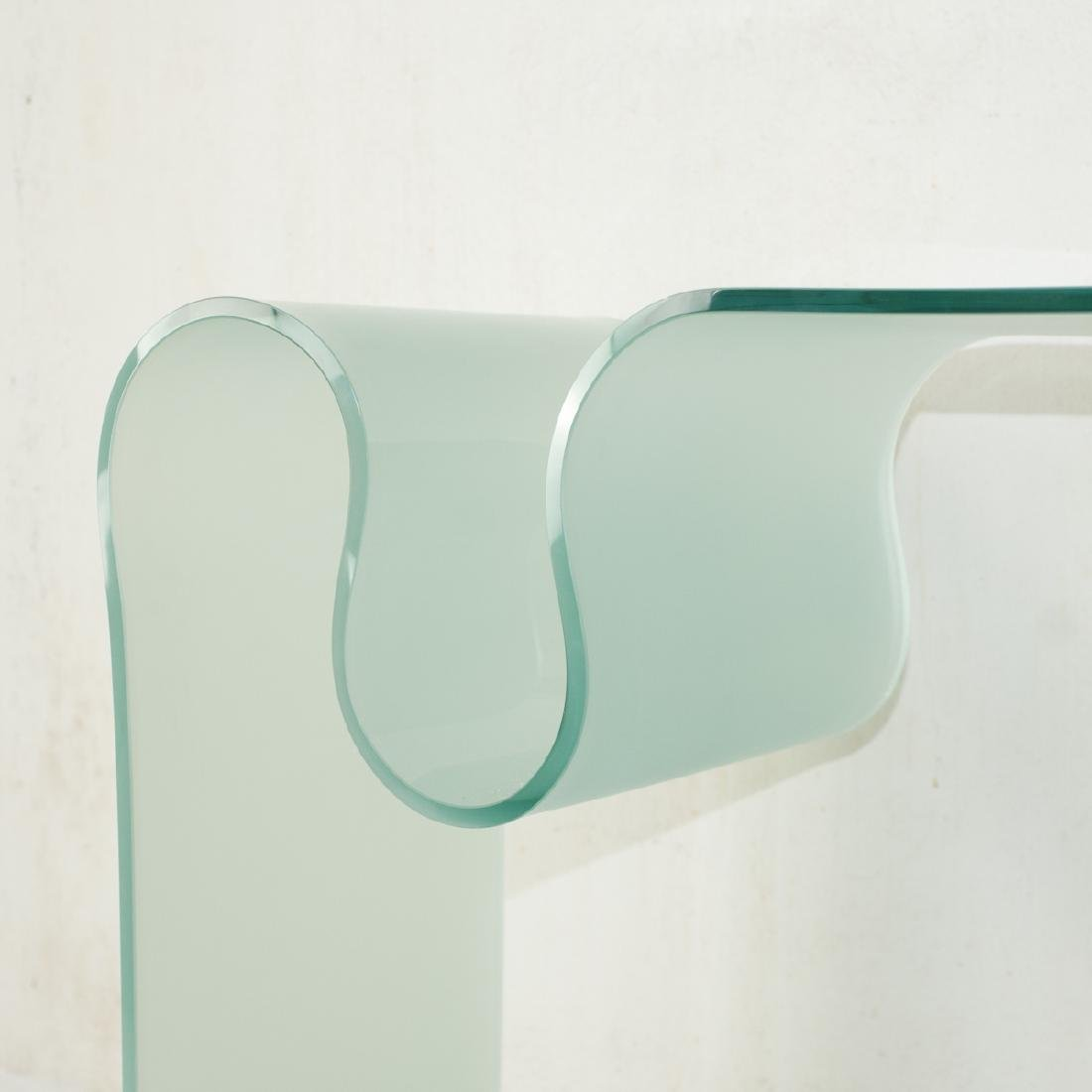 Contemporary Glass Console Table - 2