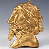 Dore Bronze Erotic Figural Plaque