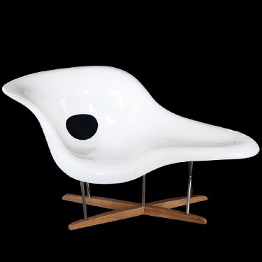 Admirable Eames La Chaise Lounge Chair Ibusinesslaw Wood Chair Design Ideas Ibusinesslaworg