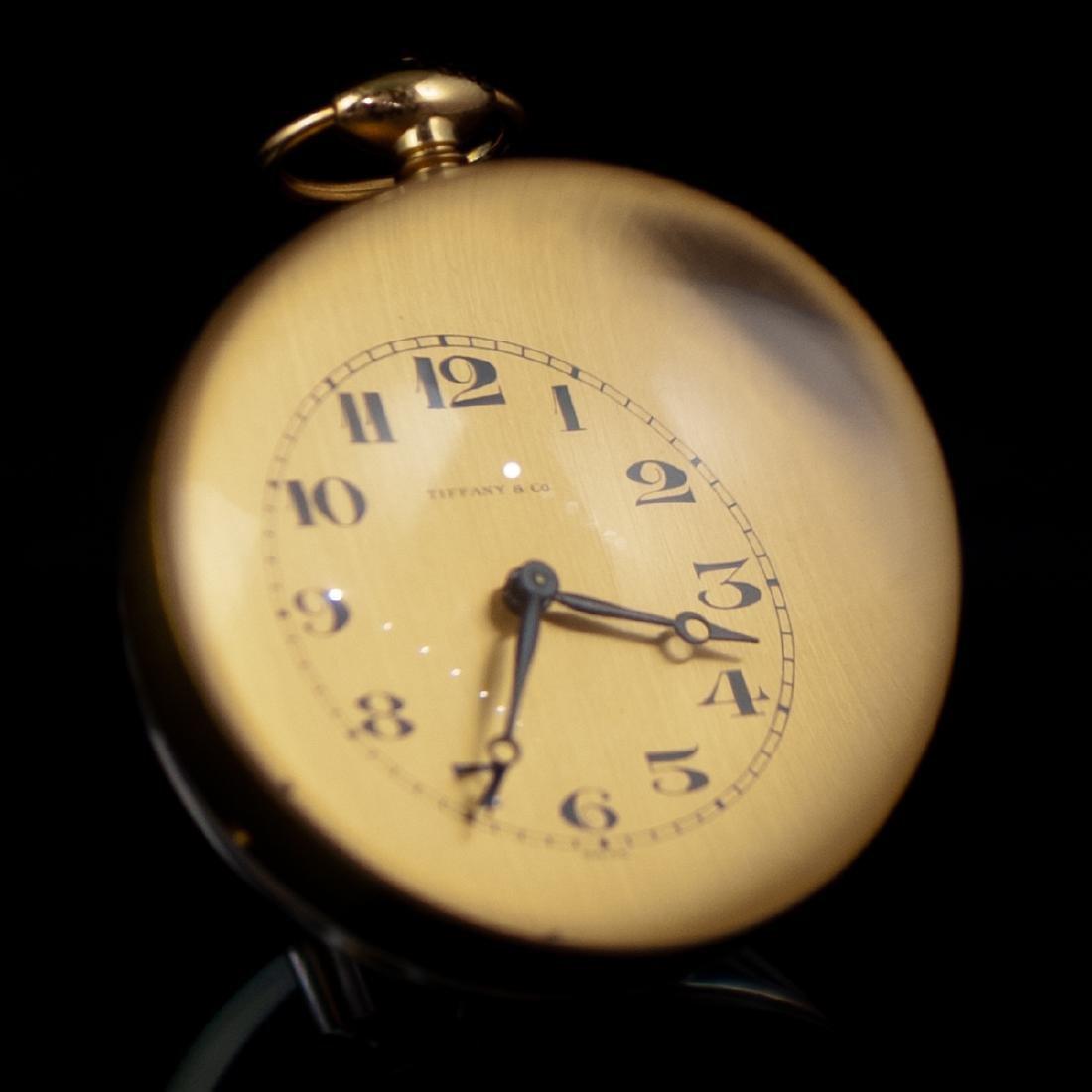 Tiffany & Co. Acrylic Table Clock