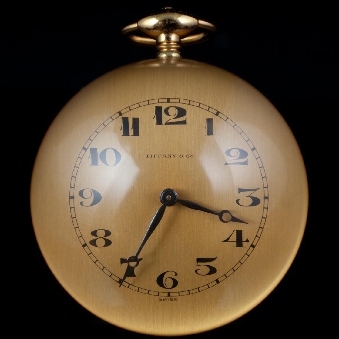 Tiffany & Co. Acrylic Table Clock - 2