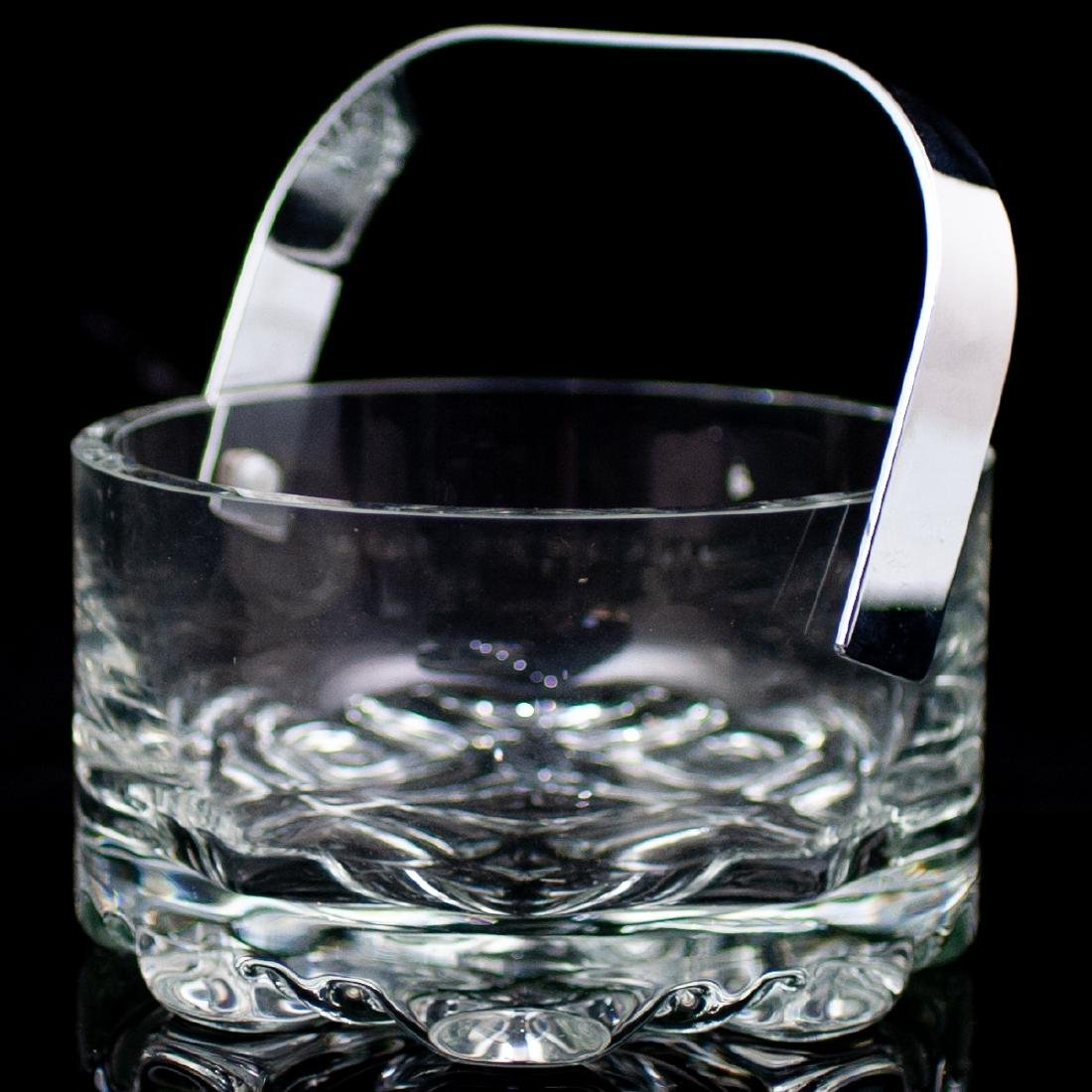 Crystal Ice Bowl With Handle