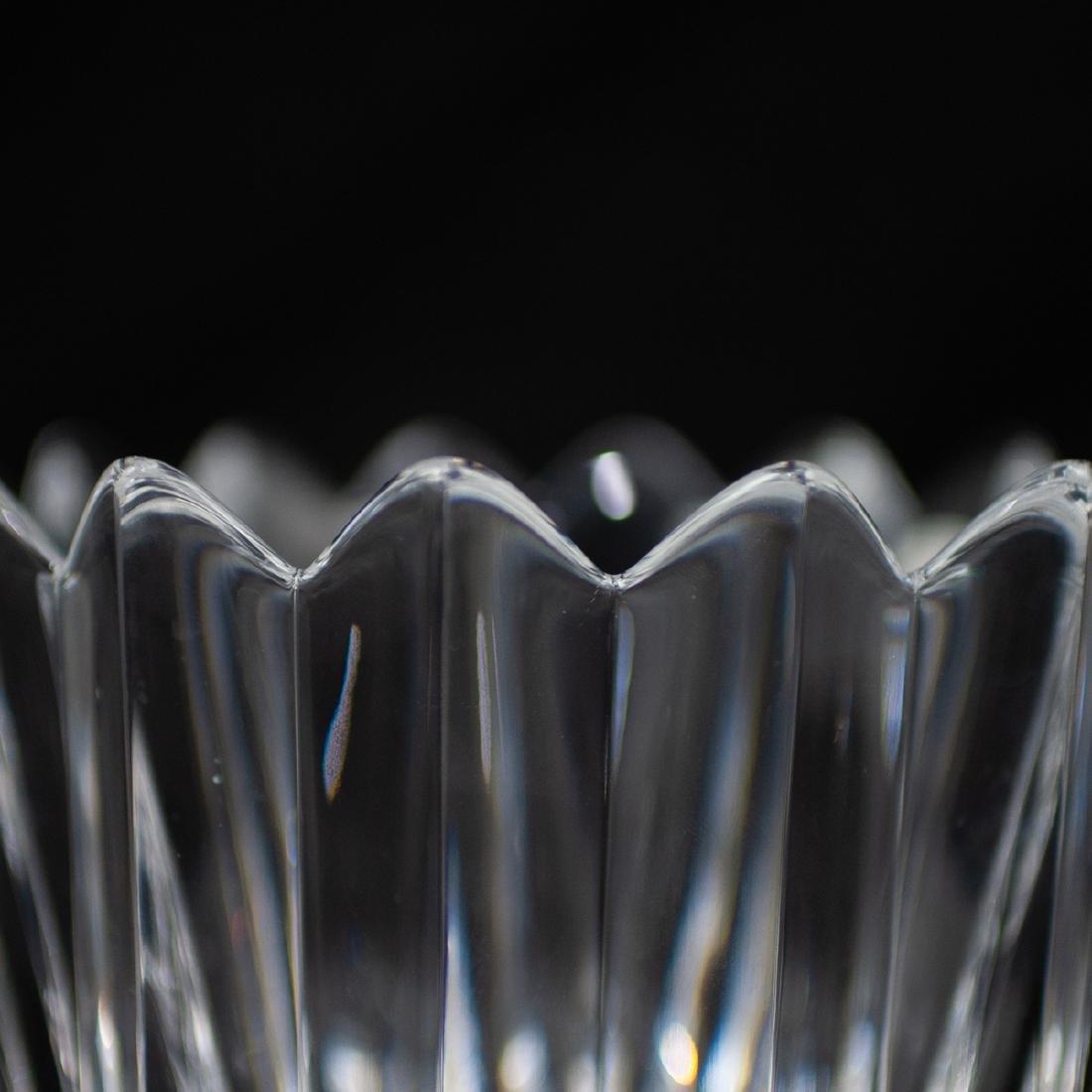 "(4 Pc) Orrefors Crystal ""Crown"" Bowls - 3"