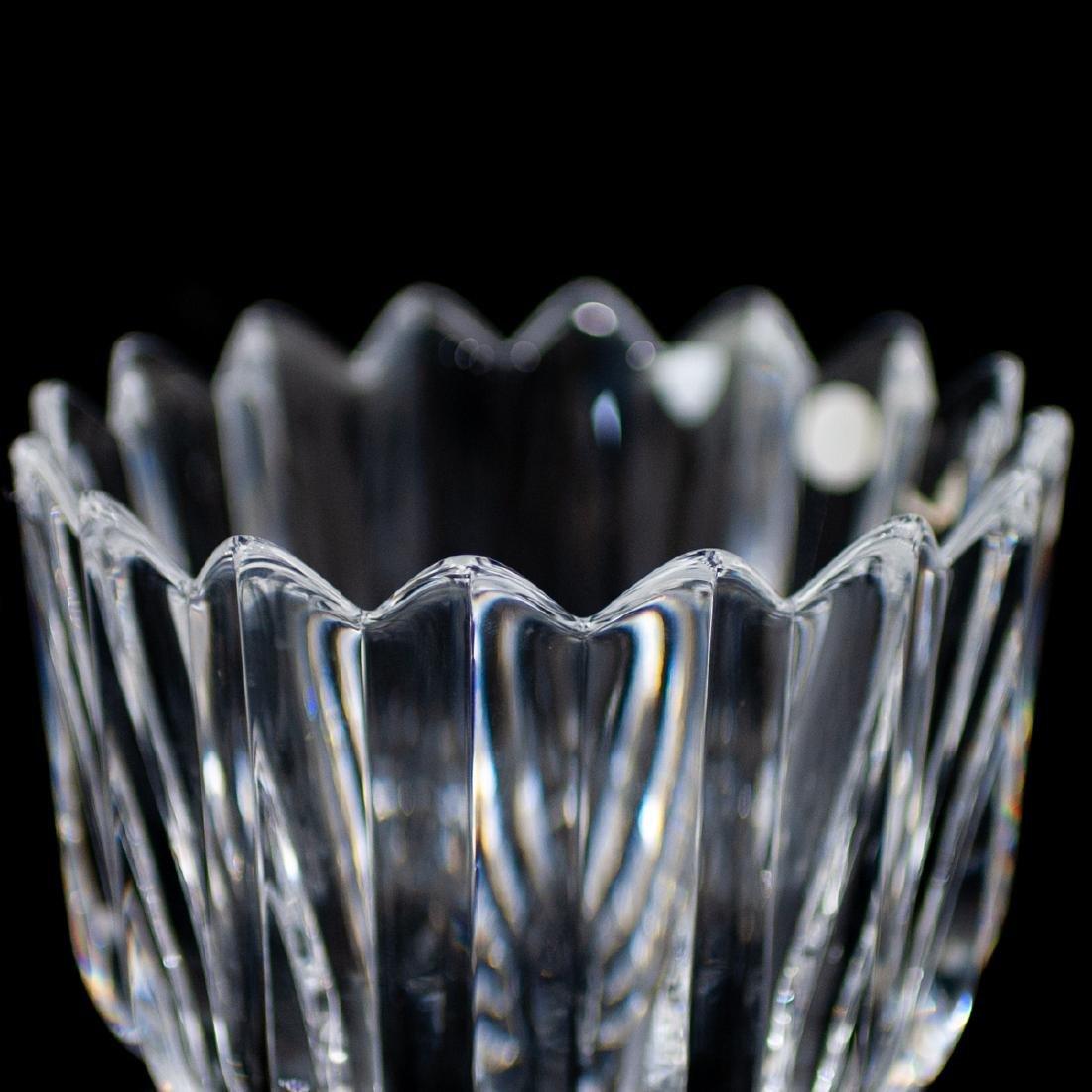 "(4 Pc) Orrefors Crystal ""Crown"" Bowls - 4"