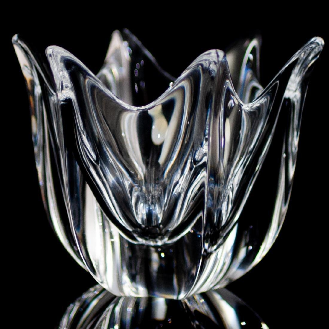 """(5 Pc) Orrefors Crystal """"Belle"""" Bowls - 3"""