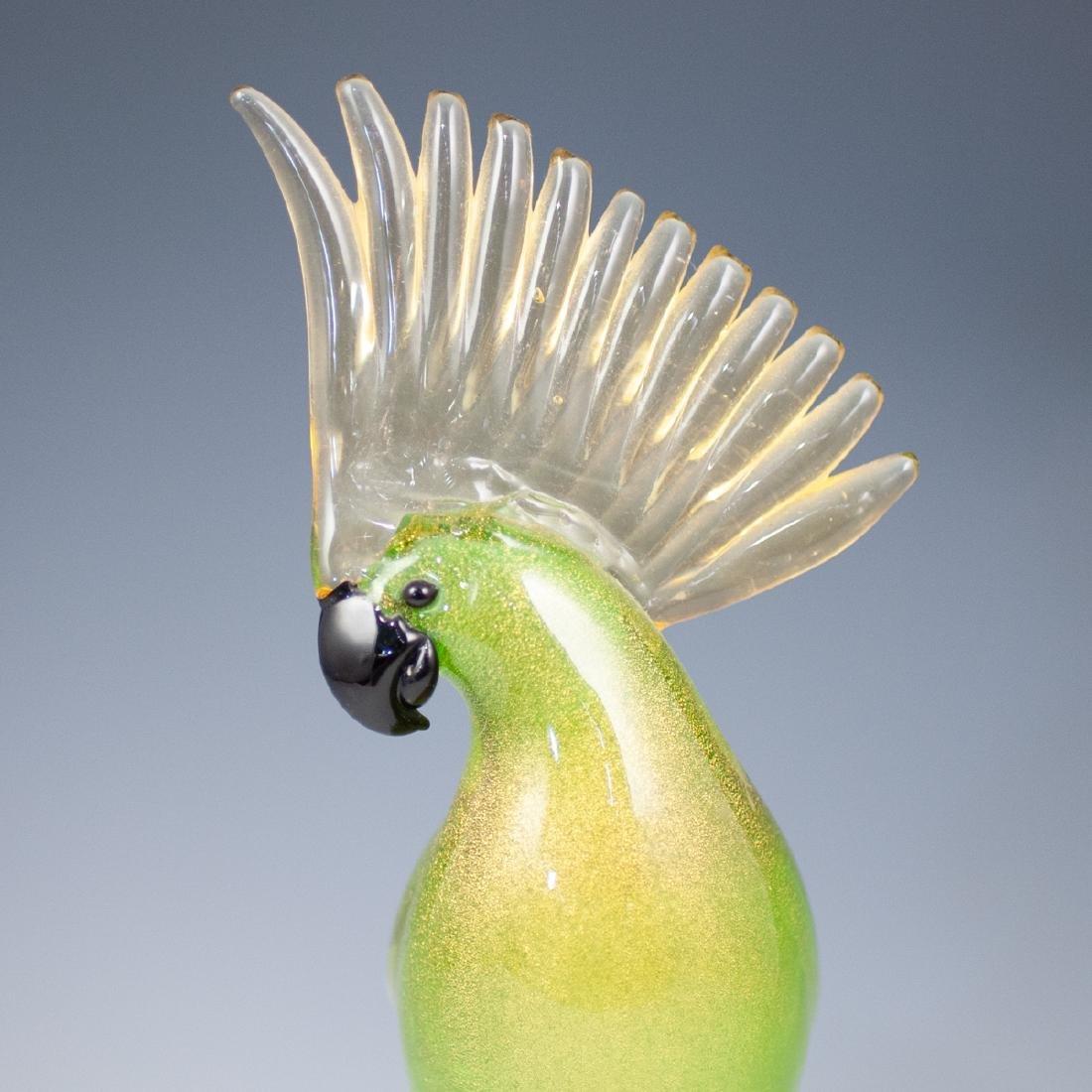 Oggetti Murano Glass Parakeet - 3