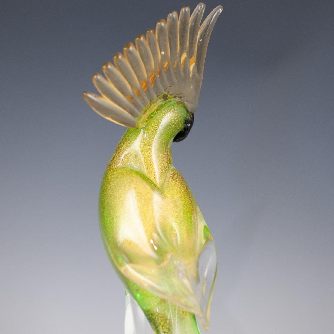 Oggetti Murano Glass Parakeet - 4