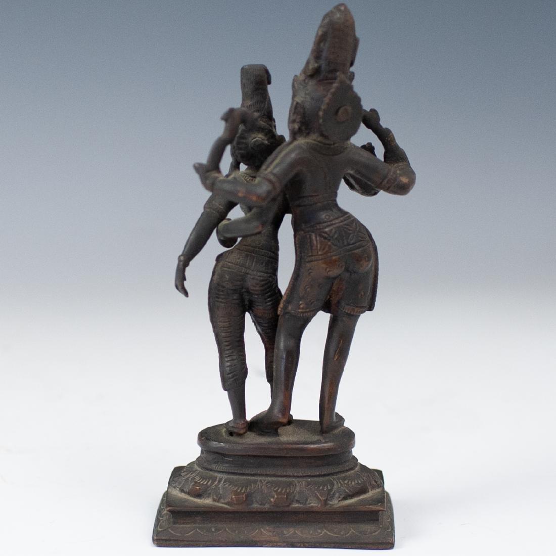 Shiva & Parvati Bronze - 3