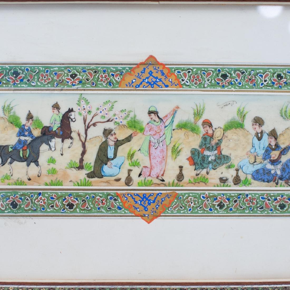 Persian Painting on Bone - 2