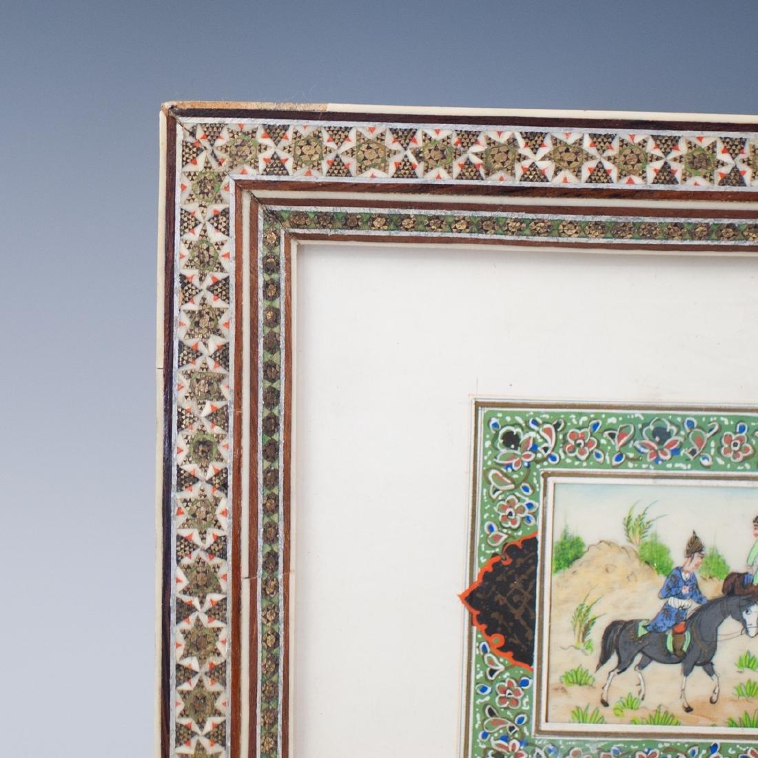 Persian Painting on Bone - 4