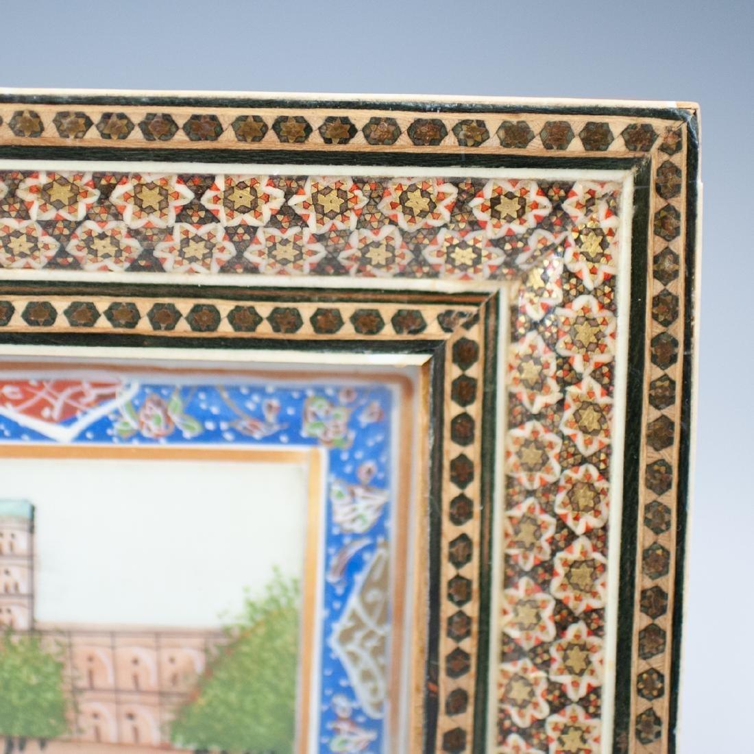Persian Painting on Bone - 3