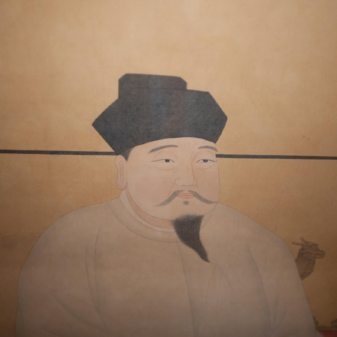 Song Dynasty Emperor Painted On Silk - 2