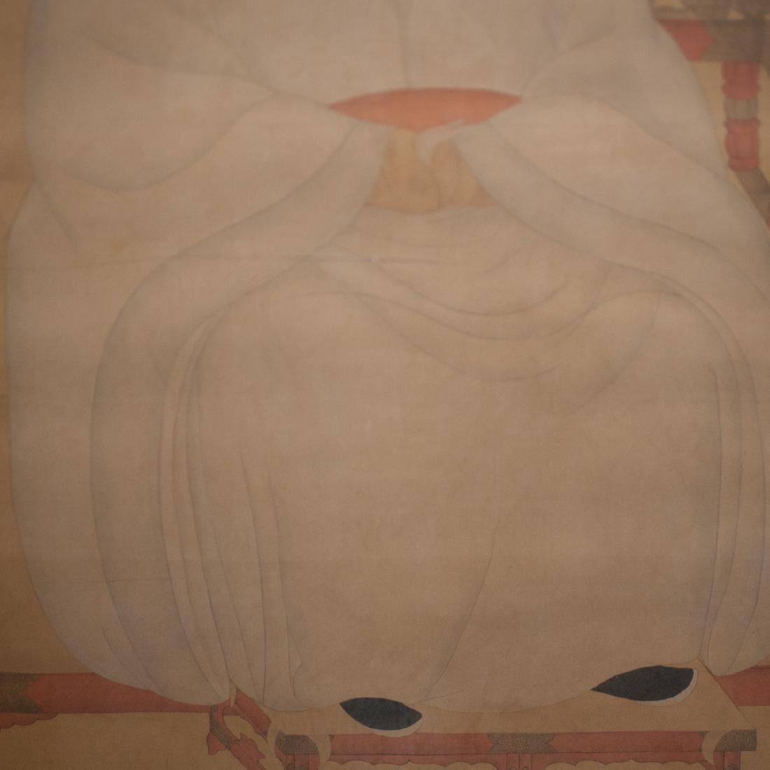 Song Dynasty Emperor Painted On Silk - 3