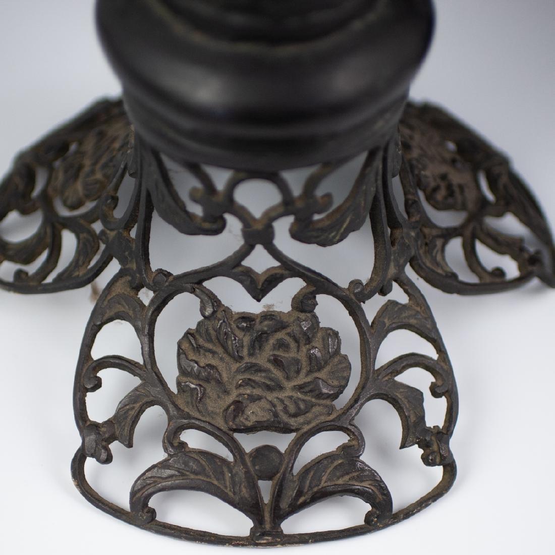 Japanese Bronze Altar Candlesticks - 5