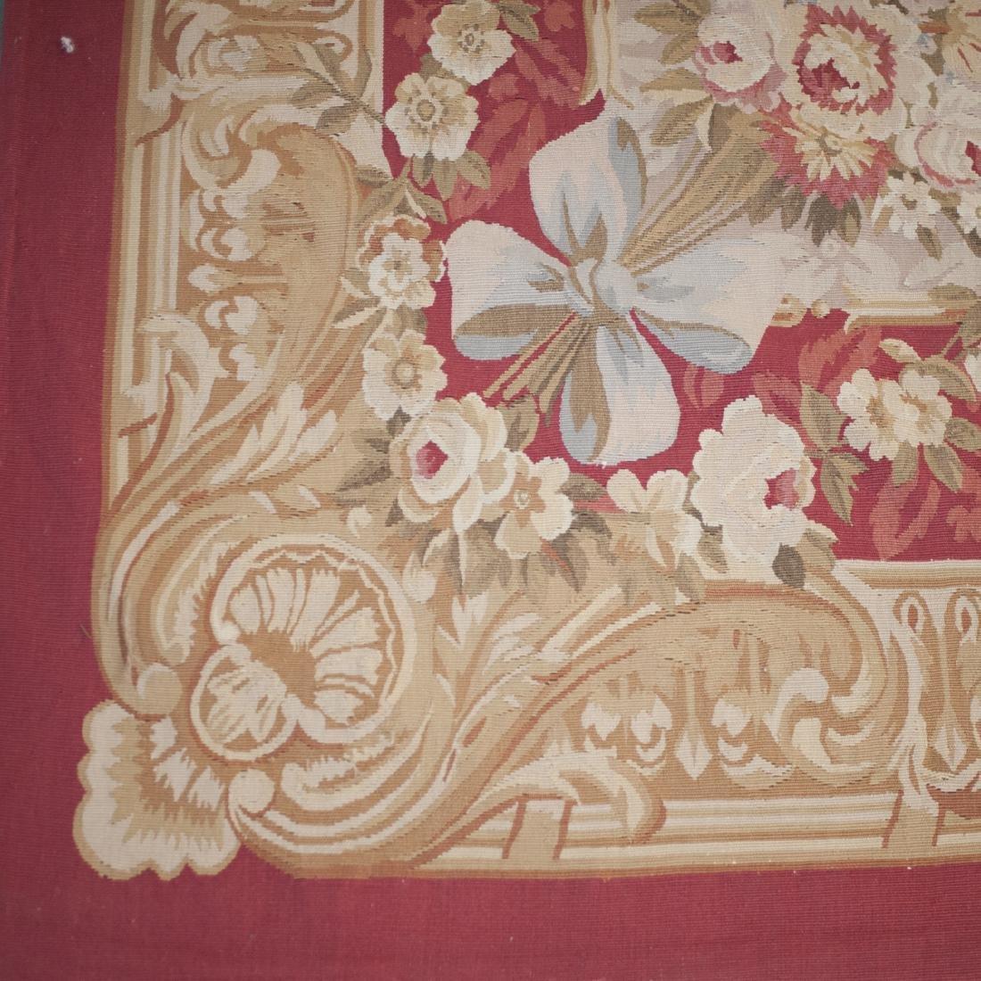 Large Antique Aubusson Carpet - 2