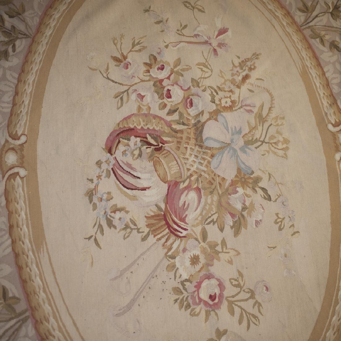 Large Antique Aubusson Carpet - 3
