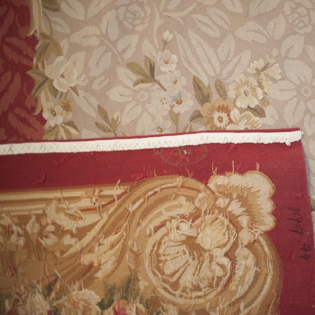 Large Antique Aubusson Carpet - 5